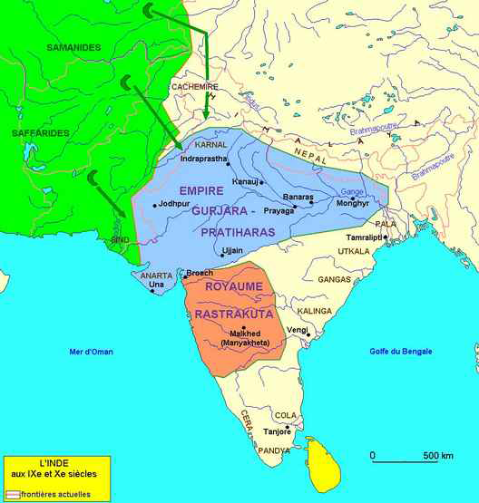Les Indes avant l'An Mil