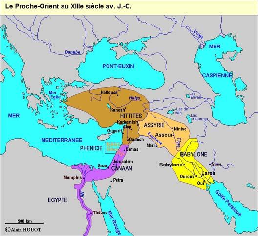 Les empires du Moyen-Orient