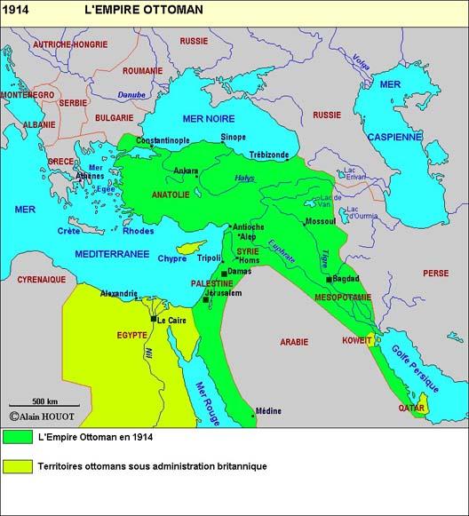 Le Moyen-Orient, des Arabes aux Ottomans