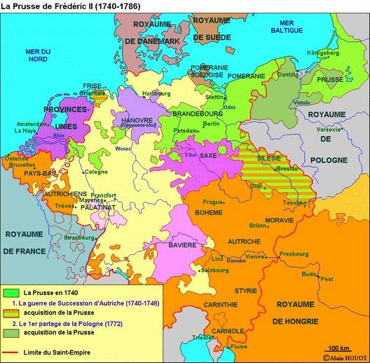 La Prusse de Frédéric II