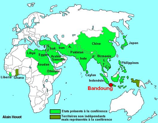 Le tiers monde se réunit à Bandoeng