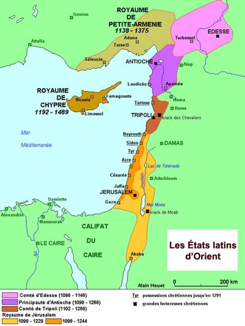 Les États francs de Terre Sainte