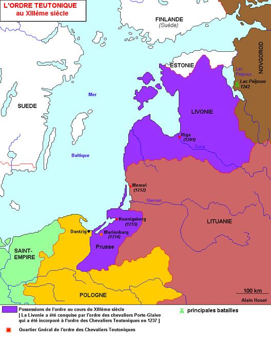 L'ordre teutonique
