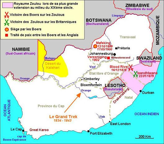 Migrations en  Afrique australe