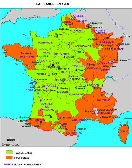 La France à la veille de la Révolution