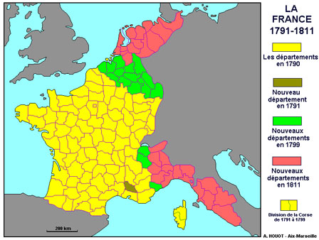 La France des 130 départements