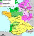25 février 1429 Jeanne d'Arc rencontre le roi à Chinon Mini1429