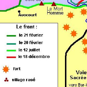 C'est arrivé le : 18 Avril .... l'histoire d'un jour sur terre. Verdun