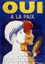 affiche du référendum du 8 avril 1962