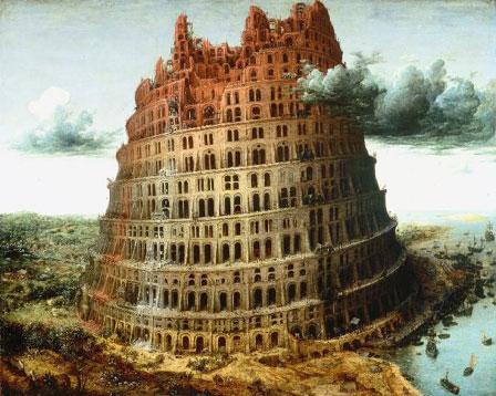 la ziggourat de babylone vue par le peintre flamand pieter brueghel l 39 ancien. Black Bedroom Furniture Sets. Home Design Ideas