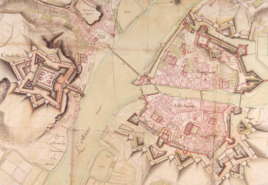 Plan des fortifications de Bayonne (photo : SHD-dist.RMN)