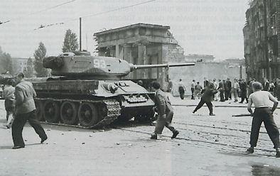 soulèvement à Berlin-Est en juin 1953