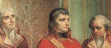 Les trois Consuls (détail d'un tableau d'Auguste Couder)