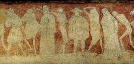 La chaise dieu l 39 abbatiale et sa danse macabre for Chaise dieu danse macabre