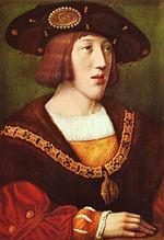 Charles Quint jeune, par Bernaerd von Orley