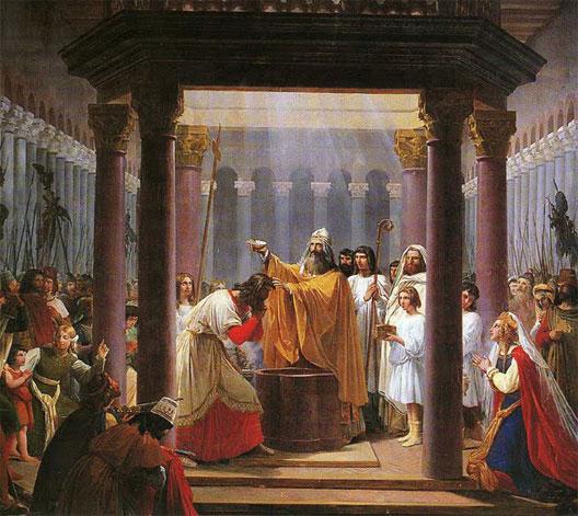 25 Décembre 498 Baptême De Clovis à Reims Herodote Net