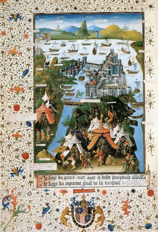 Siège de Constantinople (manuscrit français, 1455)