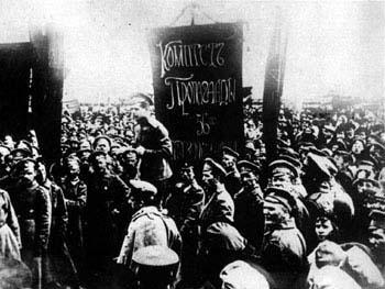Les marins de Cronstadt en 1917