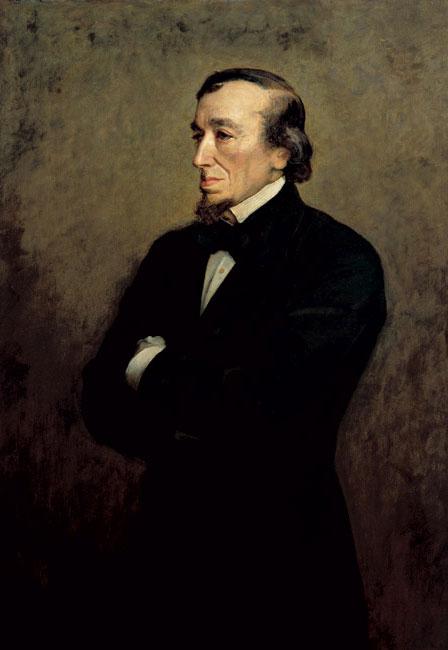 Les Chroniques du Jour : ça s'est passé un 21 Décembre Disraeli_JEMillais1881NPG