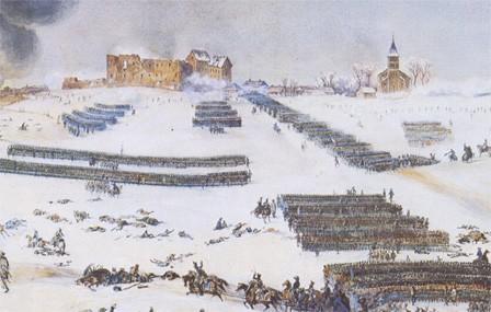 8 février 1807 : Du sang dans la neige à Eylau . EylauFort