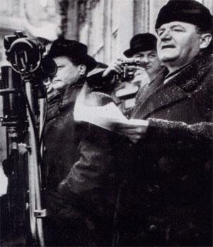 Klement Gottwald annonce la prise de pouvoir de son parti à Prague, 25 février 1948