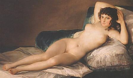 Peintre de la maja nue