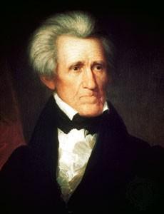 Andrew Jackson, président des Etats-Unis (1767-1845)