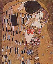 Le baiser (détail), par Gustav Klimt