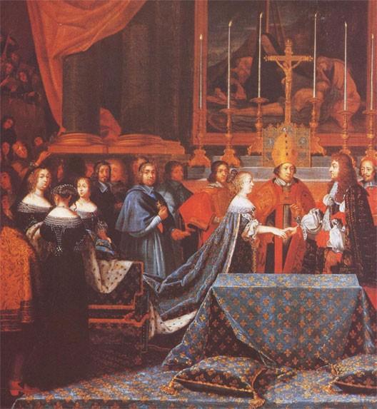 Le mariage de Louis XIV et Marie-Thérèse, par Laumosnier