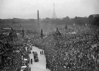 1940-1944 France : de la tragédie à l'espoir LiberationParis1944