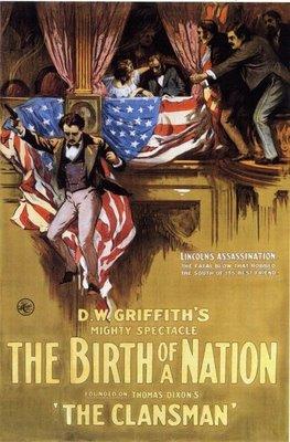 La mort de Lincoln vu par le cinéaste Griffith (Naissance d'une Nation, 1915)