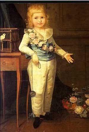 Portrait de Louis-Charles, futur Louis XVII, attribué à Élisabeth Vigée-Lebrun (National Gallery)