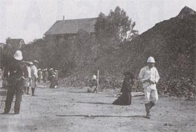 Exécution des deux chefs de la rébellion malgache en 1896