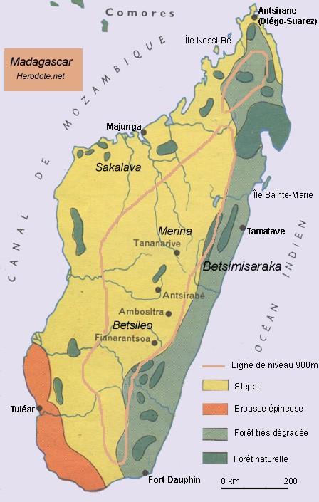 Madagascar, une île à part