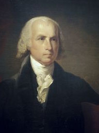 James Madison (16 mars 1751, Port Conway, Virginie ; 28 juin 1836, Orange)