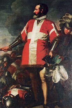 Le grand maître La Valette (1494-1568) pendant le siège (Antoine de Favray, musée de La Valette)