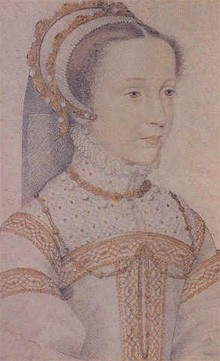 Mary Stuart at age 13