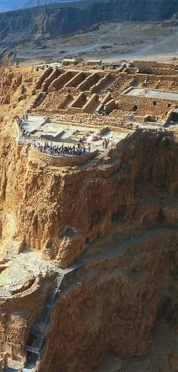 La forteresse de Massada (DR)
