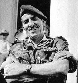 Le général Jacques Massu en 1957