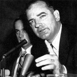 Le sénateur Joseph McCarthy