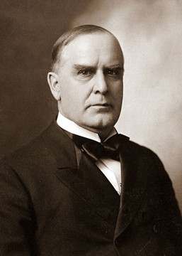 William McKinley (29 janvier 1843, Niles, Ohio ; 14 septembre 1901,  Buffalo, New York)