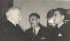 Mitterrand congratulé par Pétain le 15 octobre 1942