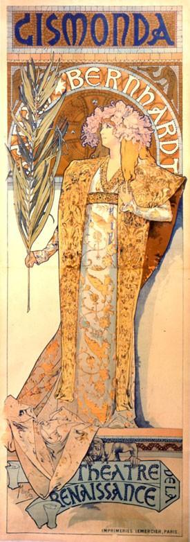 24 décembre 1894 - Mucha invente l\'Art nouveau en peinture ...