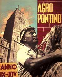 Affiche de propagande : Mussolini et la bataille du blé