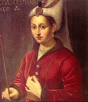 Roxelane (1500-1558), portrait d'imagination
