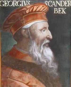 Biographie  Skanderbeg