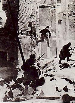 Bataille de rues à Stalingrad