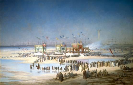 Inauguration du canal de Suez (1869)
