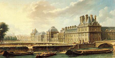 Palais du louvre le grand dessein de la monarchie et for Les jardins de catherine
