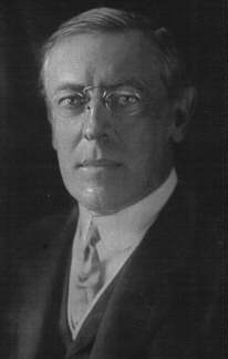 Biographie Thomas Woodrow Wilson